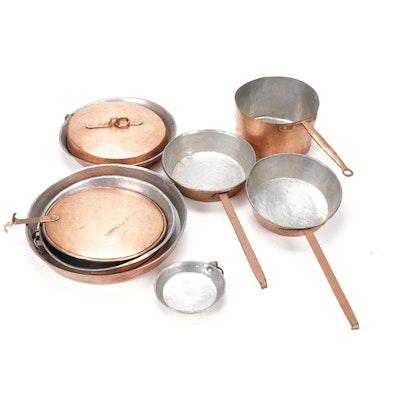 Copper Clad  Metal Cookware