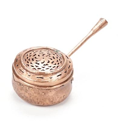 Solid Copper Chestnut Roaster