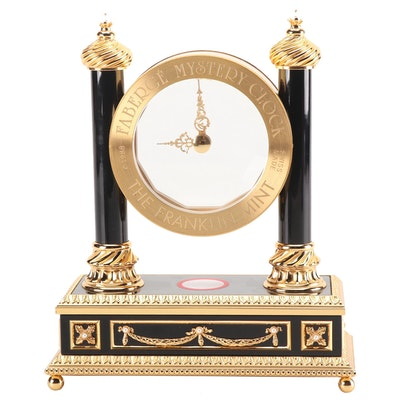 "Faberge ""Mystery"" Pillar Clock, 1988"