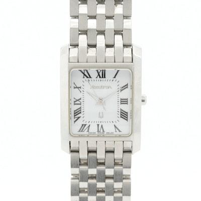 Accutron Stainless Steel Quartz Wristwatch