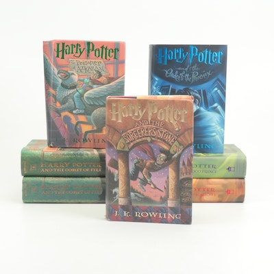 """Harry Potter"" First American Editions"
