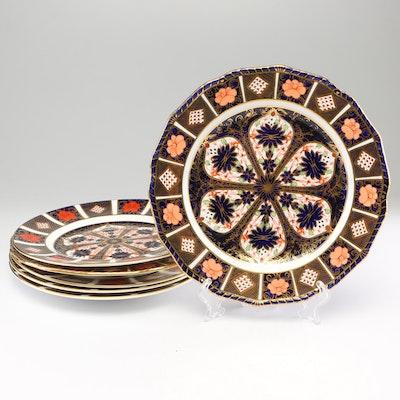 "Royal Crown Derby ""Old Imari"" Dinner Plates"
