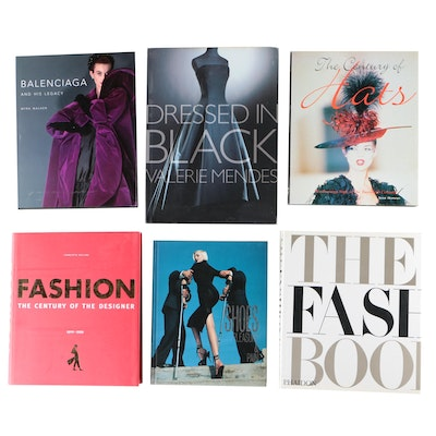 Fashion and Design Coffee Table Books