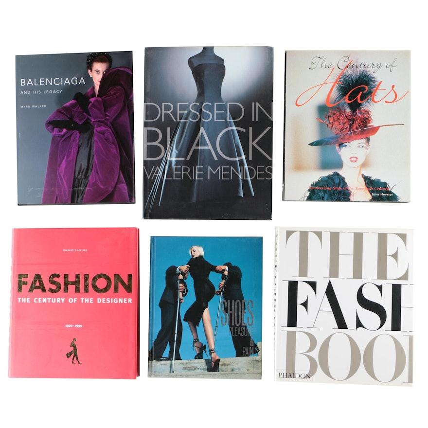 Fashion and Design Coffee Table Books