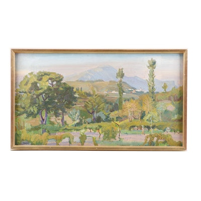 Sandri Landscape Oil Painting