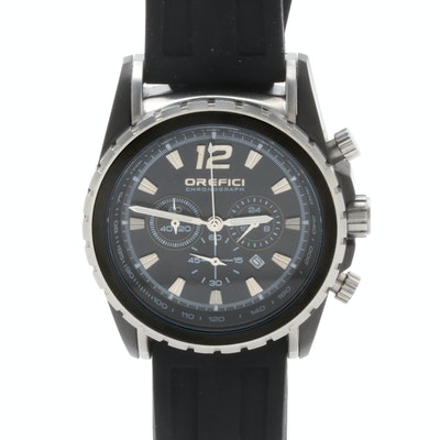 Orefici Stainless Steel Chronograph Wristwatch