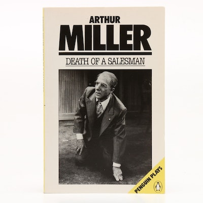 "Signed ""Death of a Salesman"" by Arthur Miller, 1986  Visual COA"