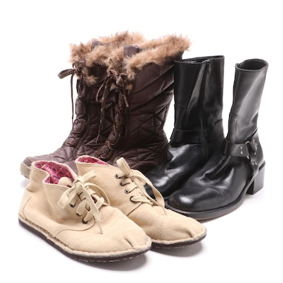 Columbia Quilted Winter Boot and Other Boots
