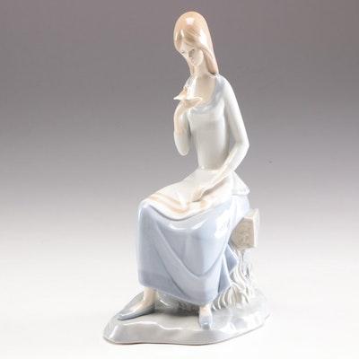 Porceval Porcelain Figurine