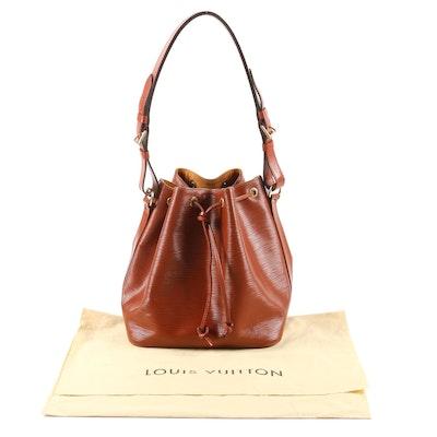Louis Vuitton Paris Petite Noé in Kenyan Fawn Epi Leather