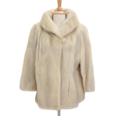 Mink Fur Coat from I. Himmel & Sons, Vintage