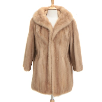 Mink Fur Coat from Fettner Felix Friedman Furs, Vintage