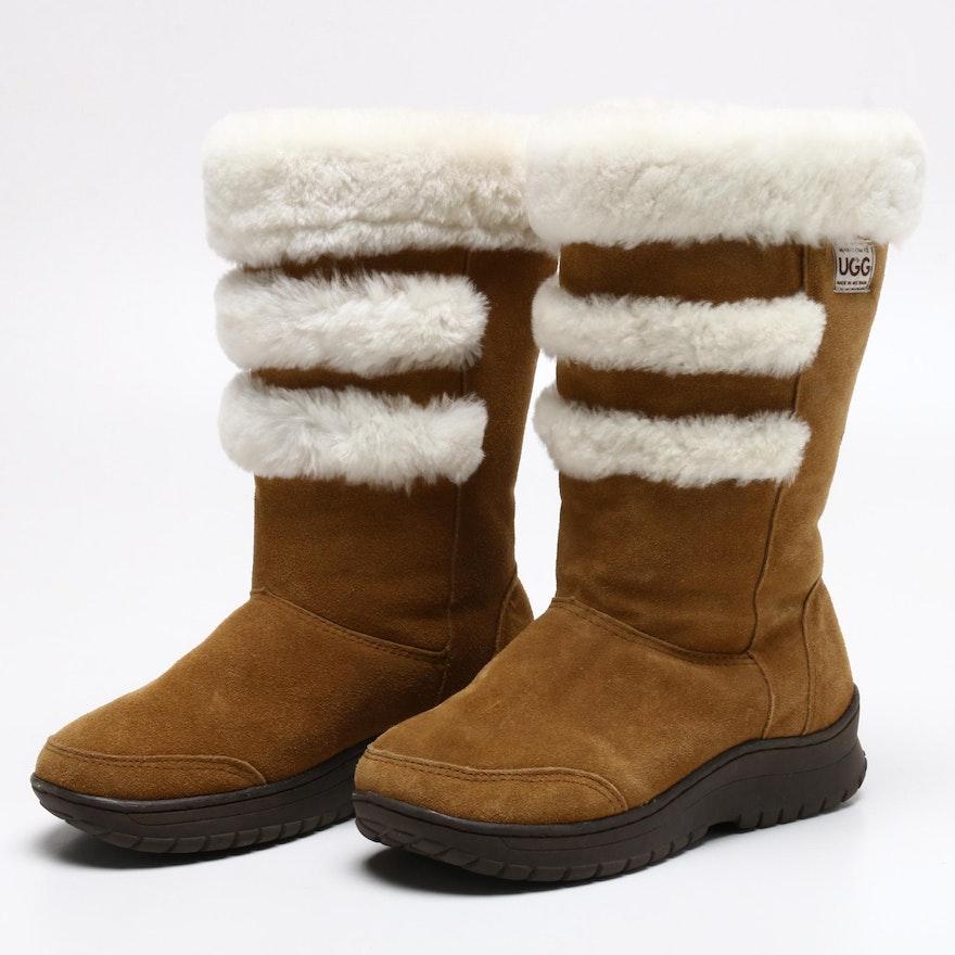 UGG Shearling Lined Sheepskin Boots