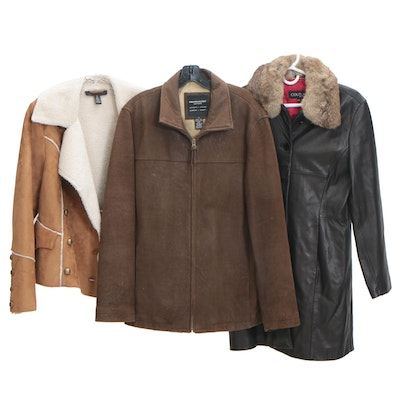 Pronto-Uomo and Couture by J.Park Leather Jackets and INC Jacket