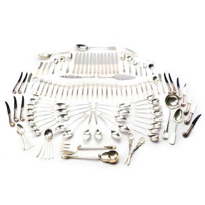 Silver Plate Flatware and Table Accessories Including Rogers Bros