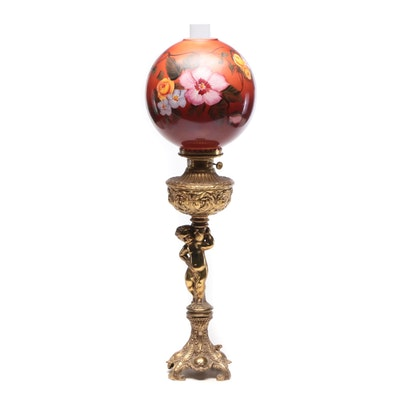 Baroque Style Parlor Lamp