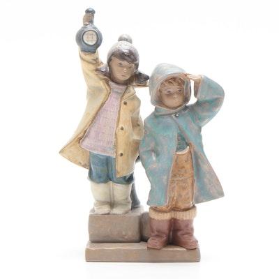 "Lladró ""Ahoy There"" Porcelain Figurine, Circa 1980s"