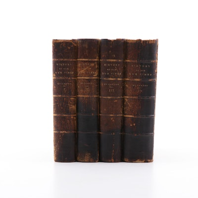 "1879 ""A History of Our Own Times"" Four Volume Set by Justin McCarthy"