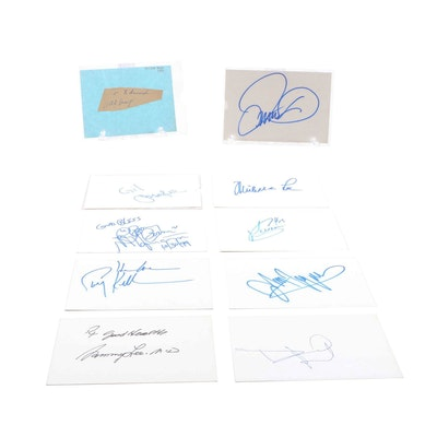 Willie Mays, Ray 'Boom Boom' Mancini, Gheorghe Mureșan, and More Autographs