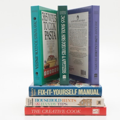 """""""The Creative Cook"""" and Additional Homemaking Books, Mid to Late 20th Century"""