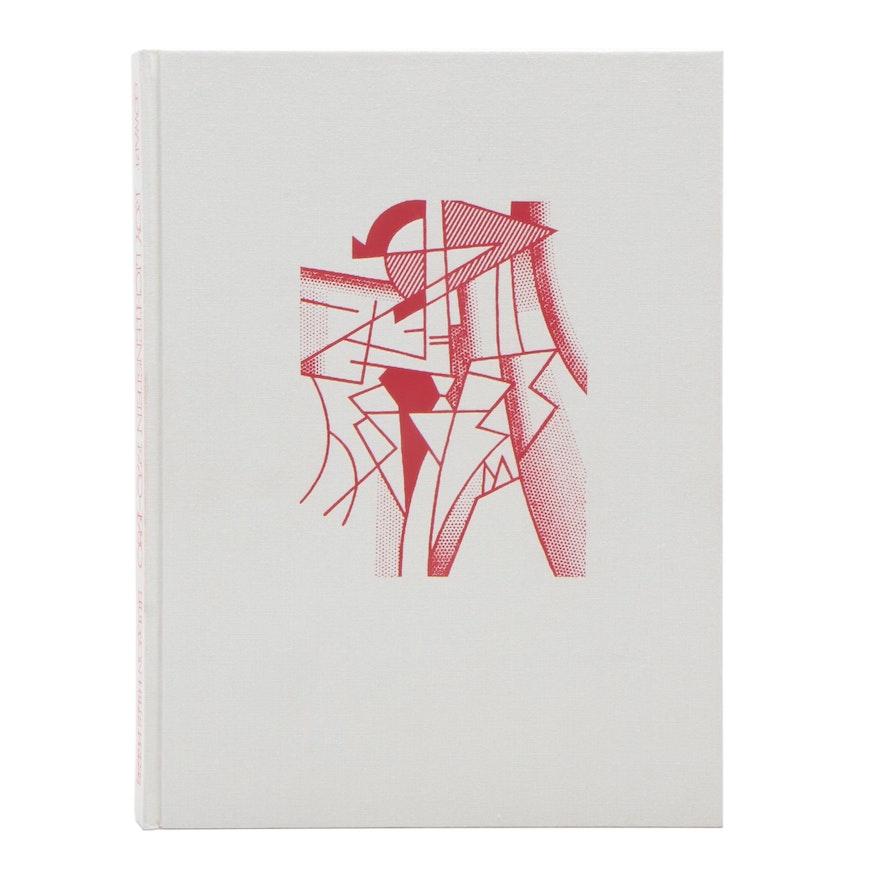 Roy Lichtenstein Signed Hardcover Book