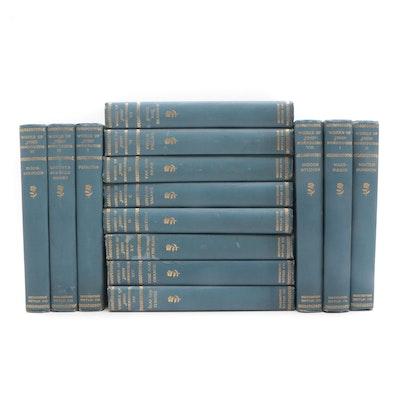 "Antique ""The Writings of John Burroughs"" Fourteen Volumes"