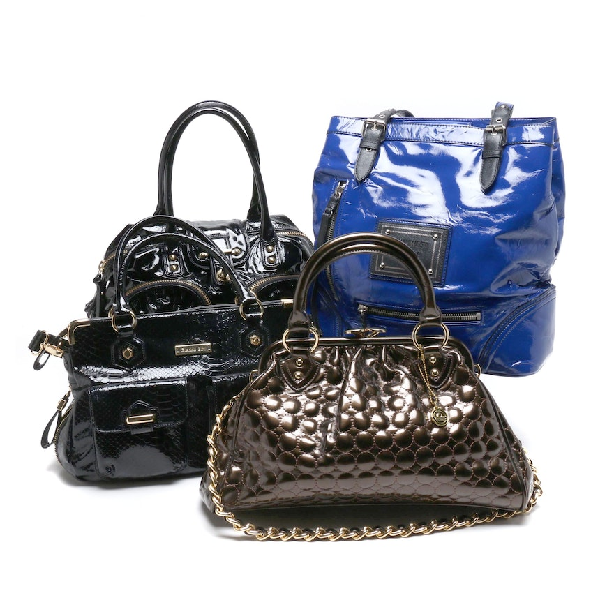 Botkier Black Patent Leather Satchel and Other Handbags