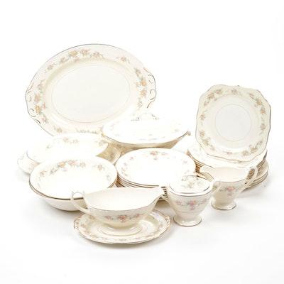 "Homer Laughlin Co. ""Cashmere"" Fine China Tableware"