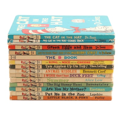 """Beginner Books"" Collection including Works by Dr. Seuss"