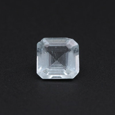 Loose 0.78 CT Aquamarine Gemstone