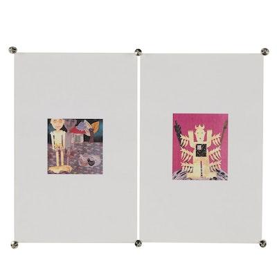 Merle Rosen Figural Digital Collages