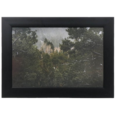 "Christopher Keels Color Photograph ""Sun Mountain, Sante Fe, NM"""