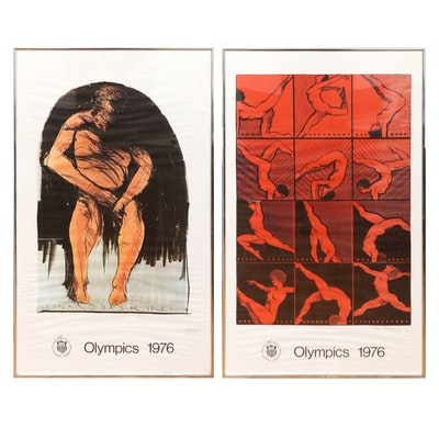 1976 Montreal Olympics Lithograph Posters