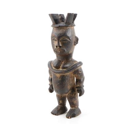 Wooden Igbo Style Figure