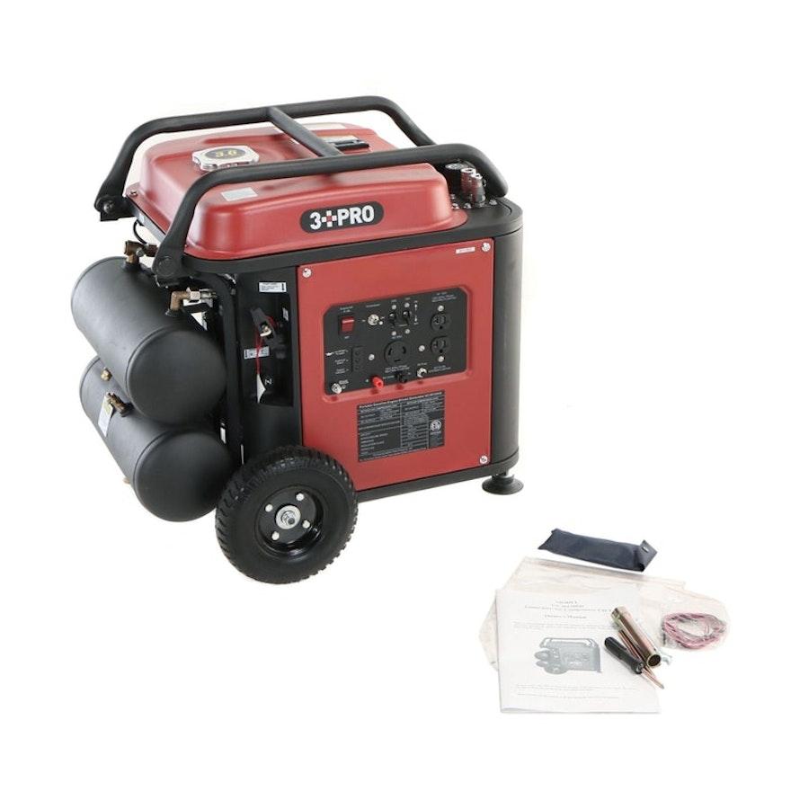 3 PRO Generator / Air Compressor 2 in 1,  Model 3012