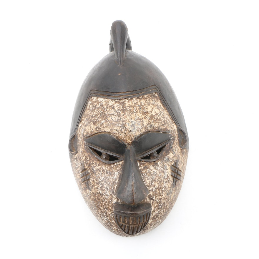 Wooden Igbo Style Mask