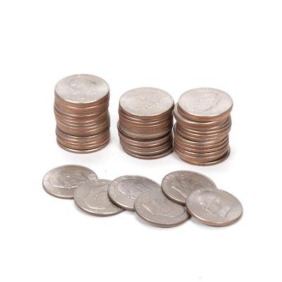 United States Eisenhower One Dollar Coins