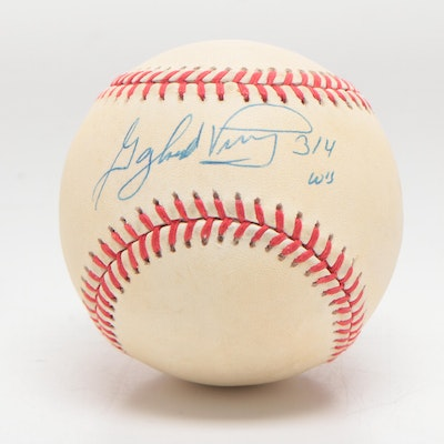 Gaylord Perry Signed National League Baseball