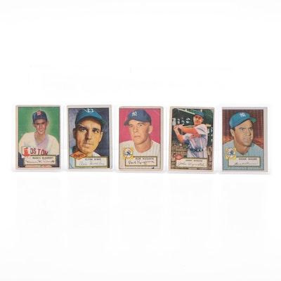 1952 Topps Baseball Cards