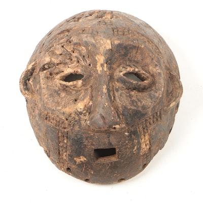 Wooden Lega Style Mask