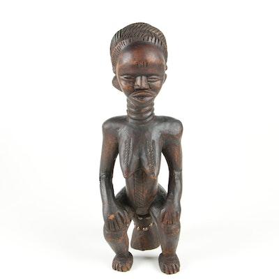 Wooden Dan Style Figure