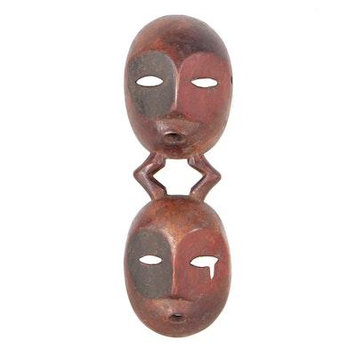Decorative Wooden Lega Style Mask