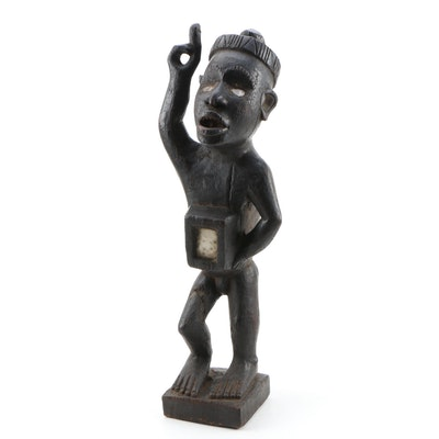 Decorative Power Style Sculpture from D.R. Congo