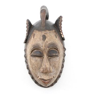 Decorative Wooden Guro Style Mask
