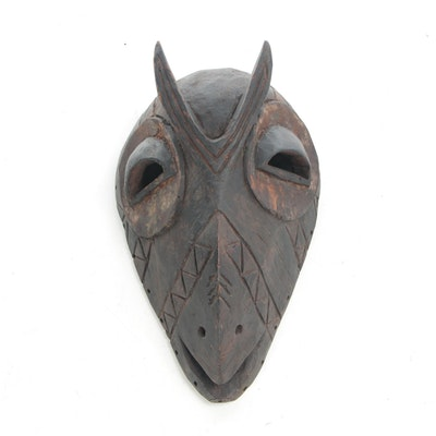 Decorative Wooden Mask from D. R. Congo