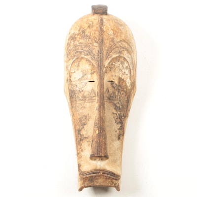 Decorative Wooden Fang Style Mask