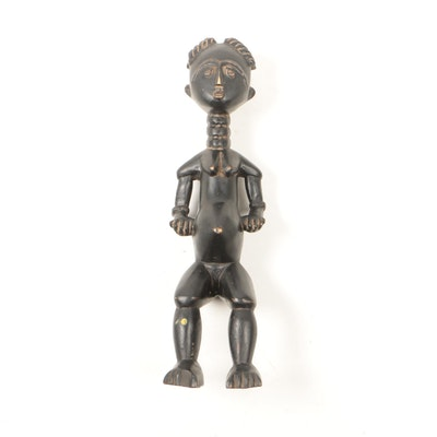 Decorative Wooden Ashanti Style Figure