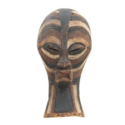 Decorative Wooden Songye Kifwebe Style Mask