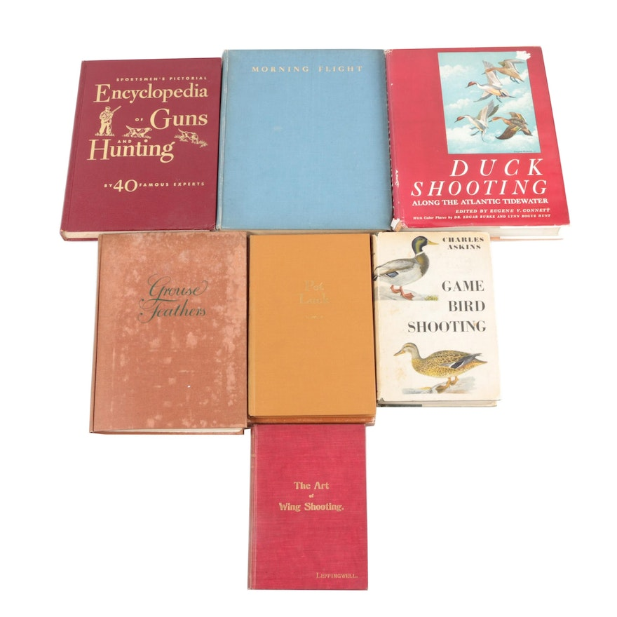 "Game Bird Shooting Books including ""Duck Shooting"" Edited by Eugene V. Connett"
