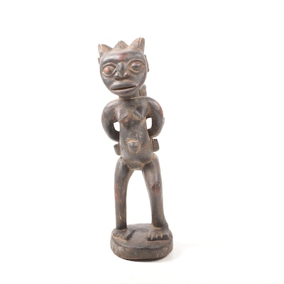 Decorative Wooden Sculpture from Cameroon